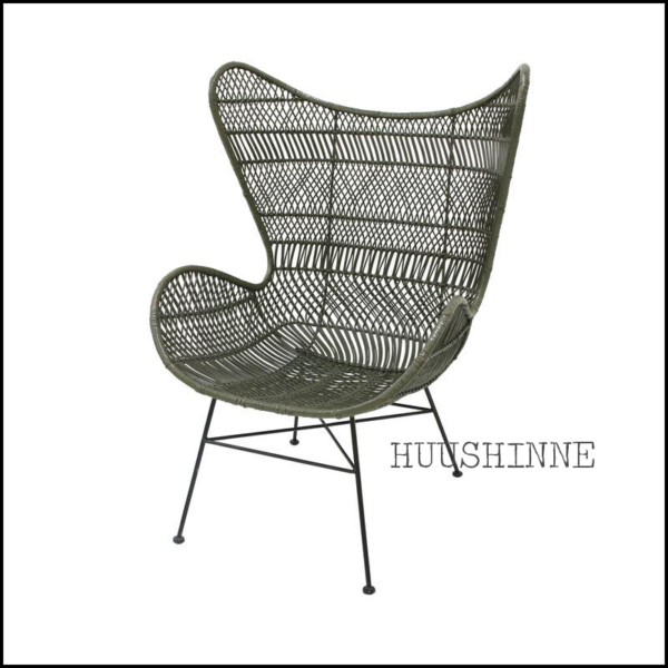 egg chair groen hkliving