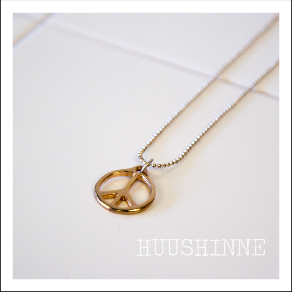 ketting peace Huushinne